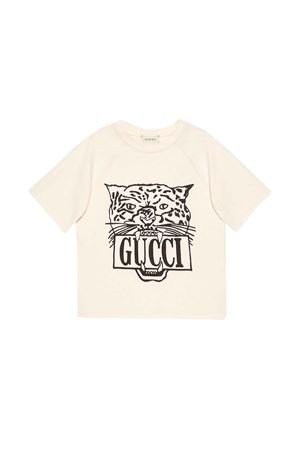 Gucci kids white T-shirt  GUCCI KIDS | 8 | 587687XJBDA9247
