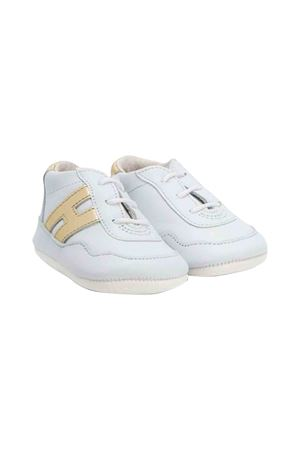 Hogan kids newborn white sneakers  HOGAN KIDS | 12 | HXB0570BH90HBO4085