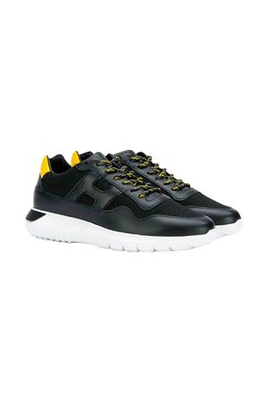 Black Hogan kids teen sneakers  HOGAN KIDS | 12 | HXC3710AP30KIR2774T