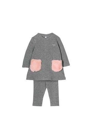 Il Gufo kids gray suit IL GUFO | 42 | DP313M00190733