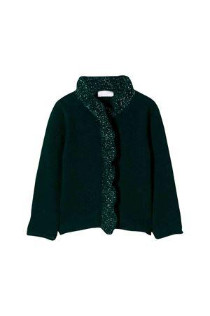 Dark green cardigan Il Gufo kids  IL GUFO | -1619388635 | GF320EM620579L