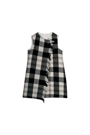 Black and white dress Il Gufo kids  IL GUFO | -1163233699 | SC059W3042099
