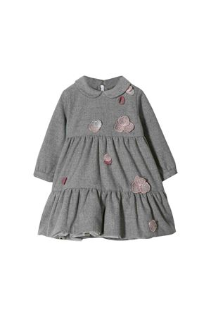 Il Gufo kids gray dress  IL GUFO | 11 | VL324W00030731