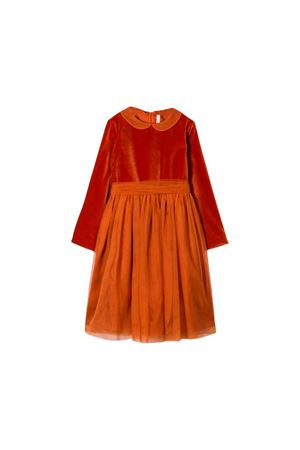 Dark orange girl dress Il Gufo kids IL GUFO | -675681197 | VM534N0062680