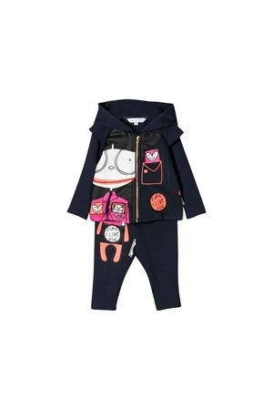 Little Marc Jacobs newborn blue jumpsuit Little marc jacobs kids | 42 | W08066849