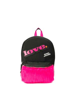 Black and fuchsia backpack Little marc jacobs kids  Little marc jacobs kids | 279895521 | W10141M94