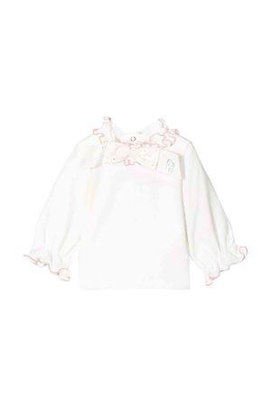 Blusa bianca Miss Blumarine Miss Blumarine | 8 | MBL1766PANNA