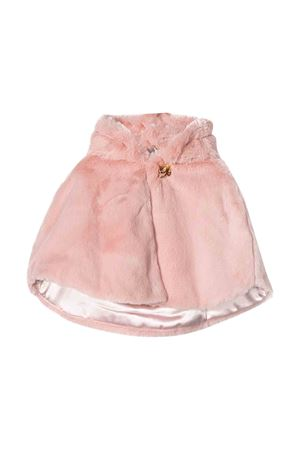 Cappa in pelliccia rosa Miss Blumarine Miss Blumarine | 52 | MBL1768CIPRIA