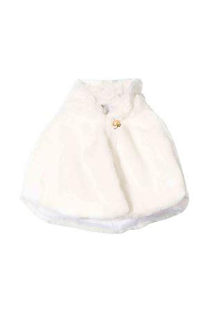 Newborn Miss Blumarine cream fur cape  Miss Blumarine   52   MBL1768PANNA