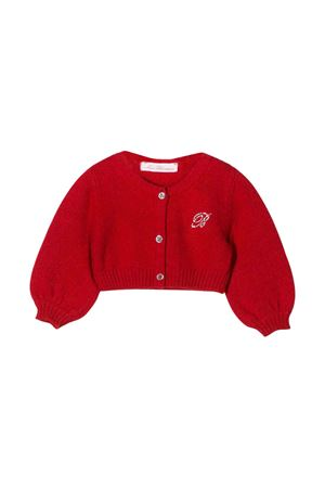 Red Miss Blumarine short cardigan  Miss Blumarine | 39 | MBL1860ROSSO