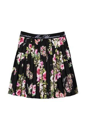 Miss Blumarine black floral skirt Miss Blumarine | 15 | MBL1962NERO