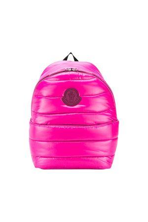 Moncler kids fuchsia padded backpack Moncler Kids | 279895521 | 006130068950550