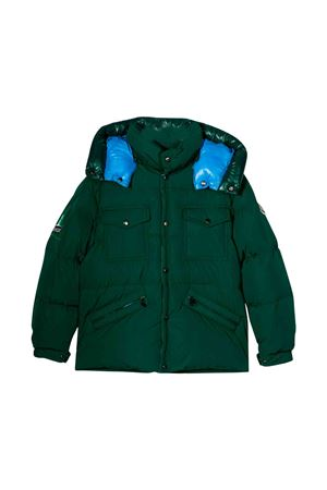 Dark green jacket Moncler kids teen  Moncler Kids | 13 | 413448554A9186DT