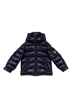 BLUE LIGHTWEIGHTJACKET MONCLER KIDS