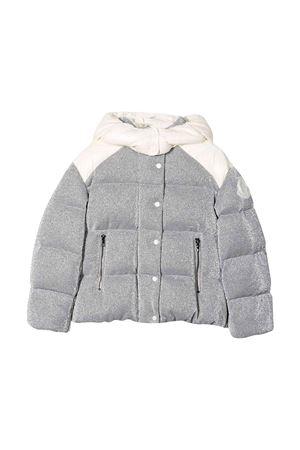 Giubbotto glitter grigio bambina Moncler kids Moncler Kids | 13 | 4632585829DD900