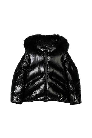 Moncler kids black down jacket Anglais  Moncler Kids | 13 | 463272568950999