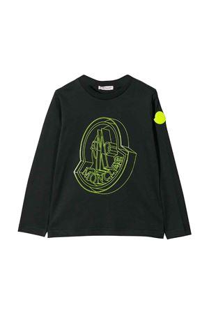 T-shirt nera bambino Moncler kids Moncler Kids | 7 | 802705083092999
