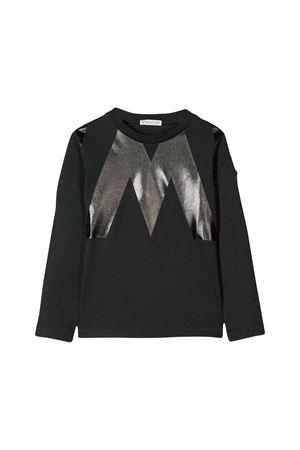 T-shirt nera Moncler kids teen Moncler Kids | 7 | 802795083092999T
