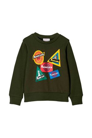 Moncler kids teen green military sweater Moncler Kids | 7 | 8028050809B3830T