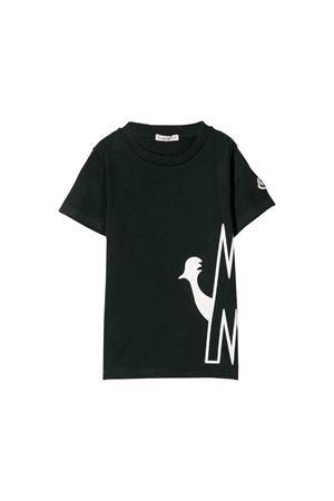 T-shirt nera bambino Moncler kids Moncler Kids | 7 | 802875083092999