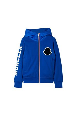 Blue Moncler kids sweatshirt  Moncler Kids | 7 | 8417650809B3711