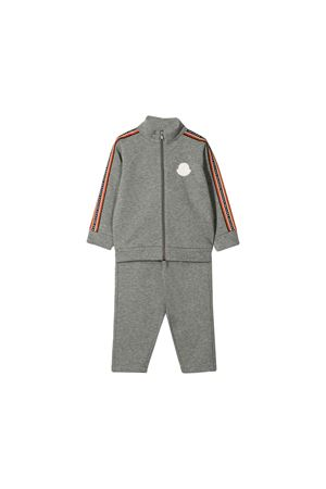 Moncler kids gray sport tracksuit  Moncler Kids | 7 | 881415080996986