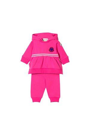 Tuta fucsia neonata Moncler kids Moncler Kids | 7 | 885980580996530