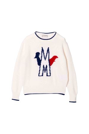 White sweater Moncler kids teen  Moncler Kids | 7 | 9007300A9096034T