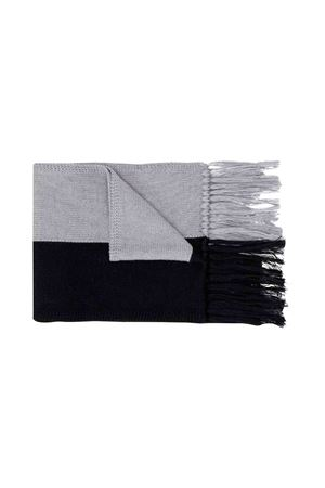 Moncler kids gray and black kids scarf  Moncler Kids | 77 | 9900705A9184999