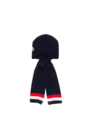 Moncler kids blue children