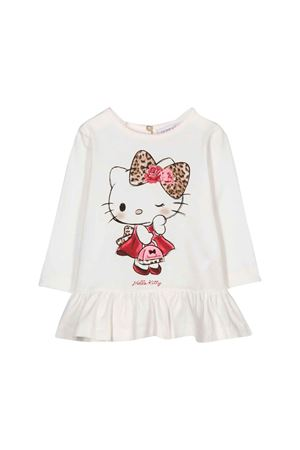 Monnalisa Kids white sweater Monnalisa kids | 8 | 314621PI42010191