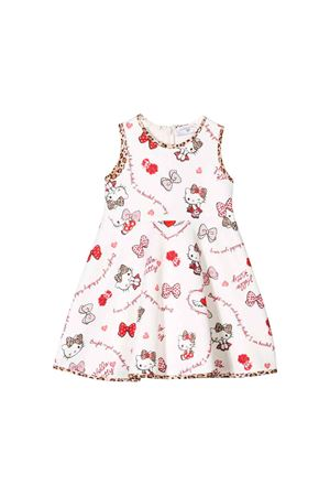 Monnalisa kids newborn sleeveless white dress Monnalisa kids | -1163233699 | 31491946750191