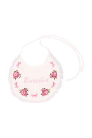 Newborn pink bib Monnalisa kids  Monnalisa kids | -546332730 | 354001SC40030001