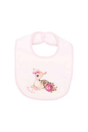 Bavetta rosa neonata Monnalisa kids Monnalisa kids   -546332730   354003SI40030191