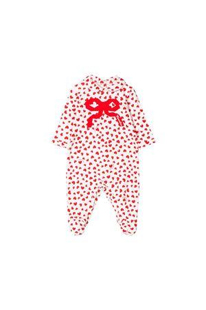 Monnalisa kids newborn white babysuit  Monnalisa kids | 1491434083 | 354208A940380143