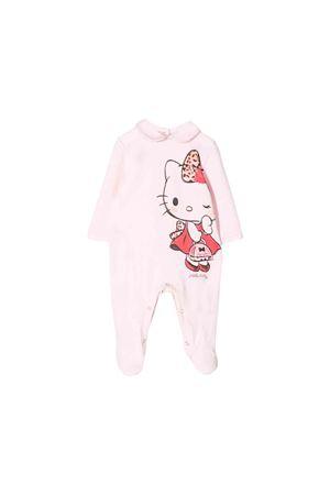 Monnalisa kids newborn pink bodysuit  Monnalisa kids | 1491434083 | 354215PM40030091
