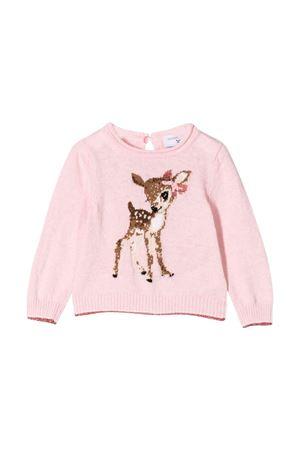 Newborn pink pullover Monnalisa kids  Monnalisa kids | -1384759495 | 39460440500091