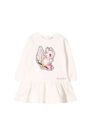 Monnalisa kids newborn cream dress  Monnalisa kids | 11 | 394901R240010001