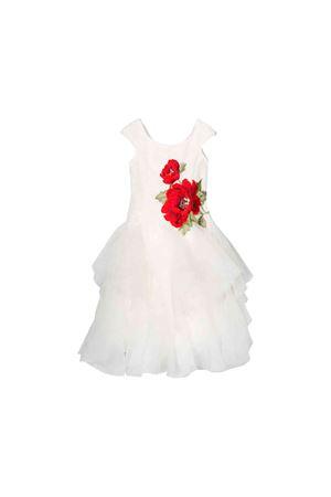 Monnalisa kids white girl dress Monnalisa kids | 11 | 77490249450143