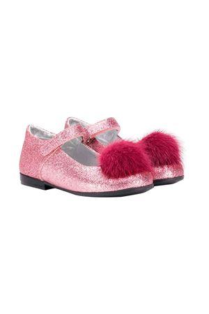 Monnalisa kids pink ballerinas  Monnalisa kids | -216251476 | 8340014705G095