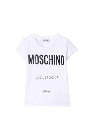 White Moschino Kids t-shirt MOSCHINO KIDS | 8 | HBM02OLBA1210101