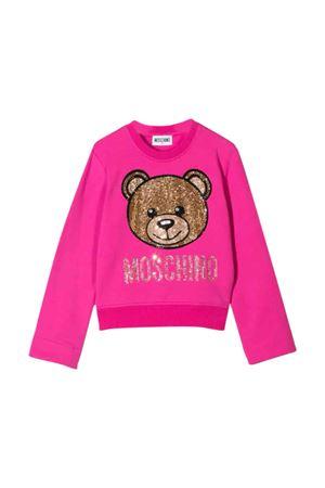 Fuchsia Moschino Kids sweatshirt  MOSCHINO KIDS | -108764232 | HDF025LDA2050323