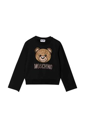 Moschino Kids black sweatshirt  MOSCHINO KIDS | -108764232 | HDF025LDA2060100
