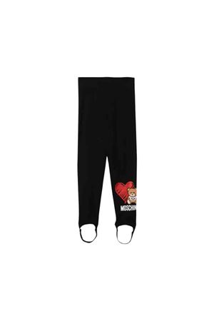 Blacky leggings Moschino kids  MOSCHINO KIDS | 411469946 | HDP03GLBA1160100