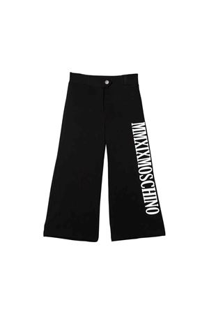 Black Moschino kids pants  MOSCHINO KIDS | 9 | HDP03LLJA0060100
