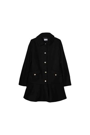 Black Moschino kids girl coat  MOSCHINO KIDS | 17 | HDS02TN0H5960100