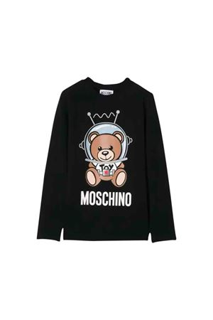 Black Moschino kids T-shirt MOSCHINO KIDS | 8 | HMM02HLBA1260100