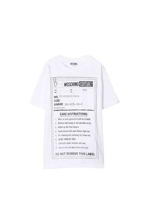 Moschino kids teen t-shirt  MOSCHINO KIDS | 8 | HMM02LLAA1010101T