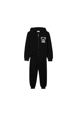 Black jumpsuit Moschino kids teen MOSCHINO KIDS | 19 | HRK014LDA1960100T