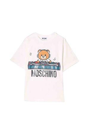 White Moschino kids t-shirt  MOSCHINO KIDS | 8 | HRM029LBA1210063
